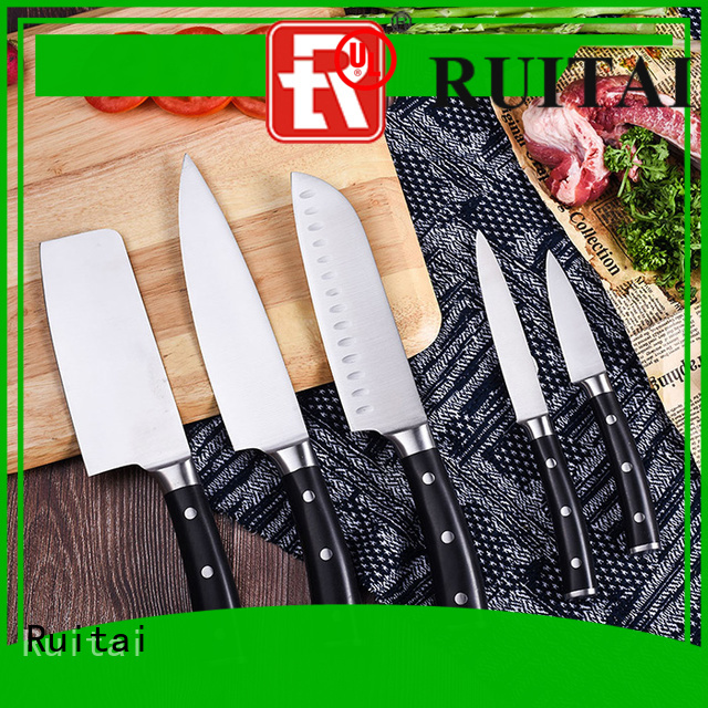 Ruitai global culinary chef knife set suppliers for mincing