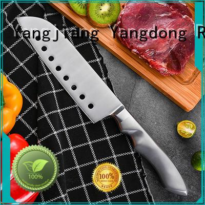 Custom chef knife vs santoku for business for chopping