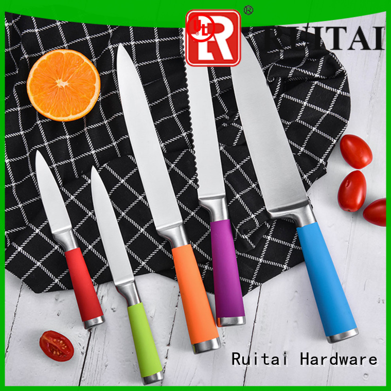 Ruitai chinese discount cutlery sets factory for kitchen