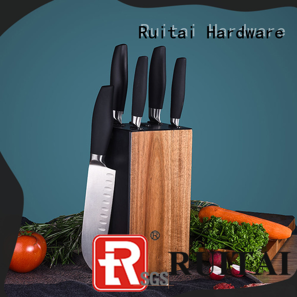 Ruitai High-quality butcher knife set factory for chef