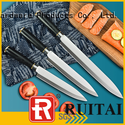 Ruitai Latest best affordable kitchen knife set suppliers for chopping