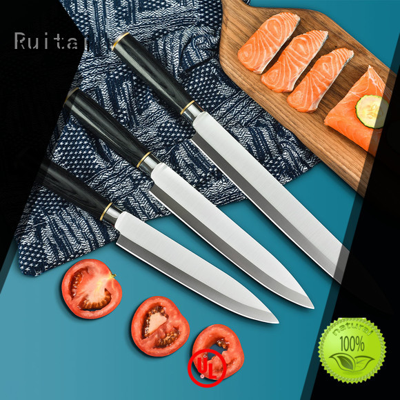 Ruitai butcher best butcher block knife set company for mincing