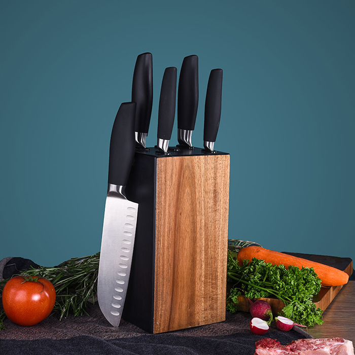RUITAI Sharp Edge Stainless Steel Professional Kitchen Knife Set K1036-06T