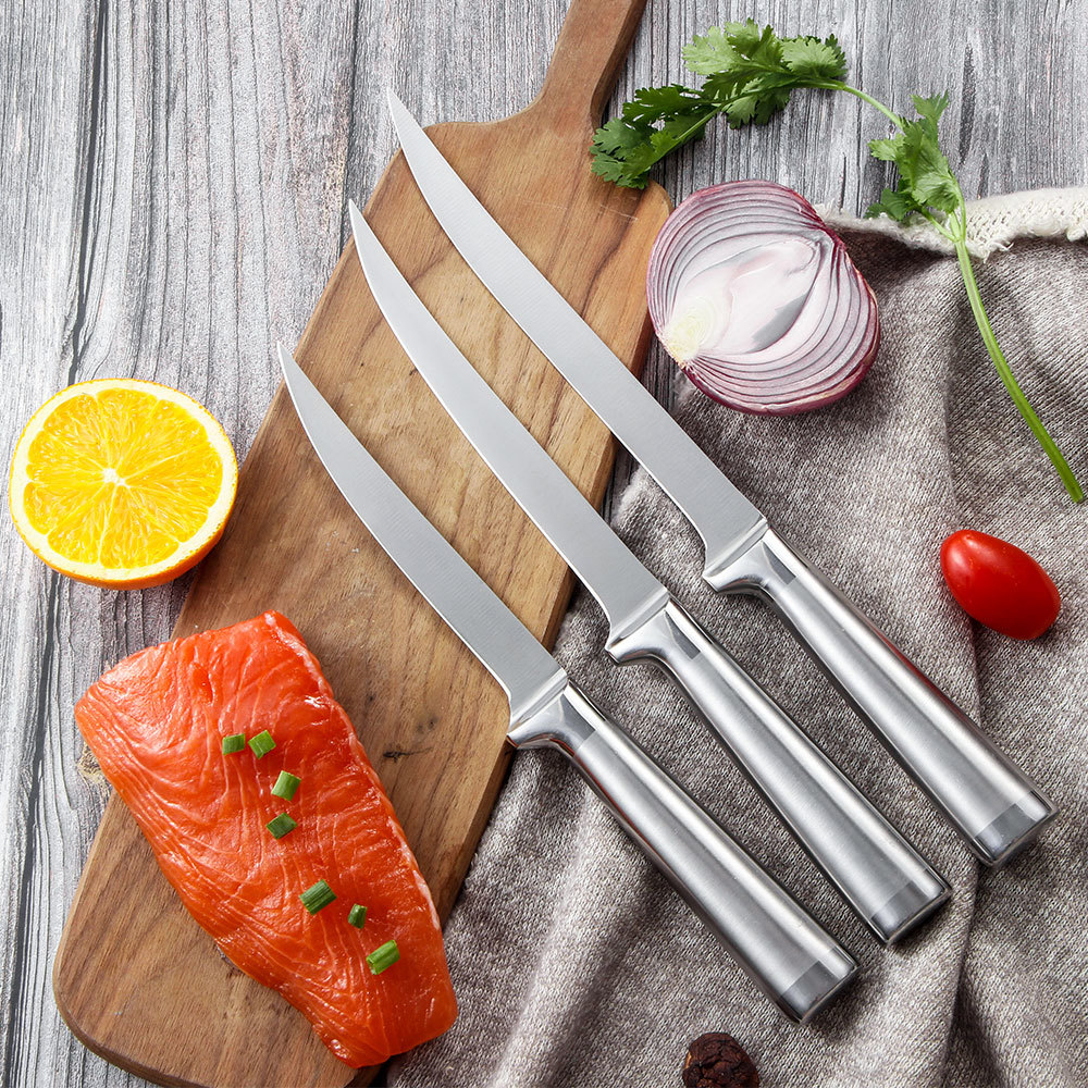 Fish Knife Fillet Boning Knife Stainless Steel Handle RUITAI K613-03T