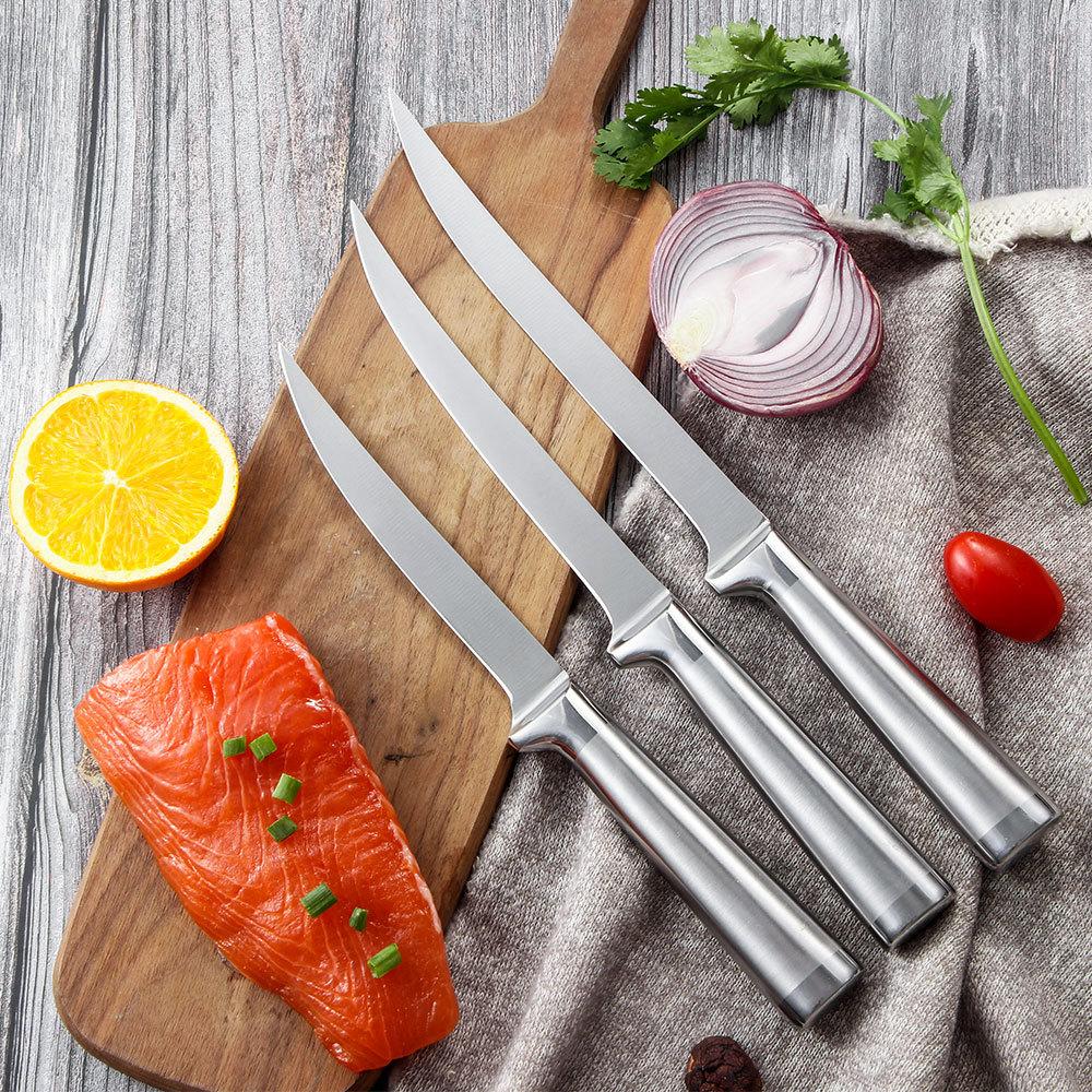Fish Knife Fillet Boning Knife Stainless Steel Handle RUITAI K613-03T