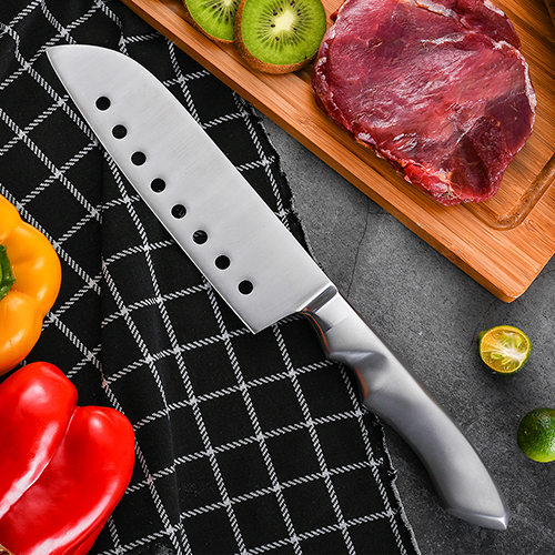 chef knife santoku Japanese knife OEM logo Non-Stick RUITAI K1781