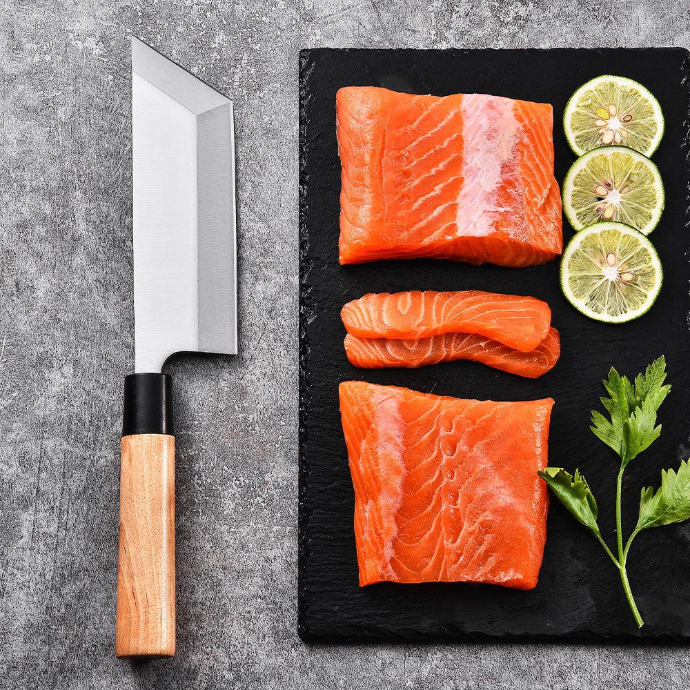 Professional unagisaki bocho Japanese Yanagiba sushi knife 7 Inch RUITAI M1007