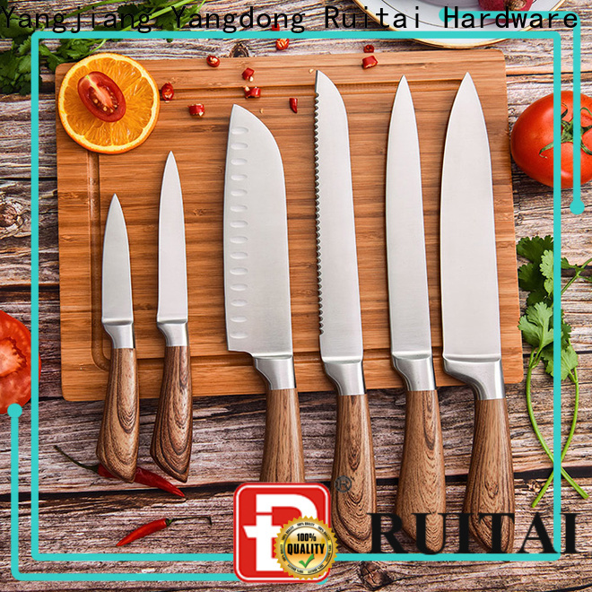 Ruitai carving 5 best kitchen knife sets for business for cook
