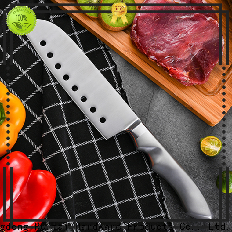 Ruitai High-quality chef's knife vs santoku for business for chopping
