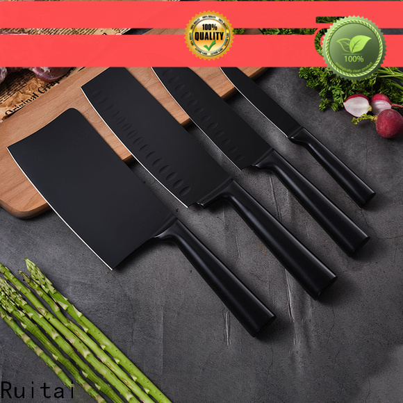 Ruitai edge knife block without steak knives company for cook
