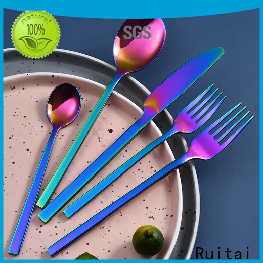 Custom cutlery set for 6 suppliers for families use