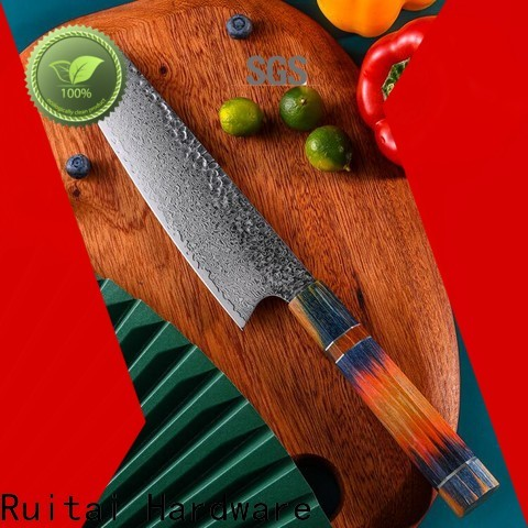 Top damascus steel chef knives for business for family