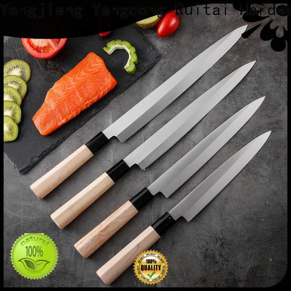 Ruitai Custom sushi knife name manufacturers for kitchen