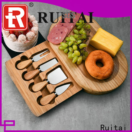 Ruitai Wholesale rosle cheese knife set factory for cook