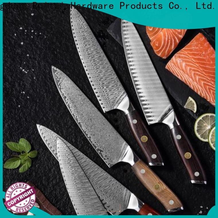 Ruitai damascus steel chef knives factory for cook