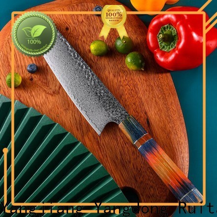 Ruitai damascus kitchen knife blanks manufacturers for family