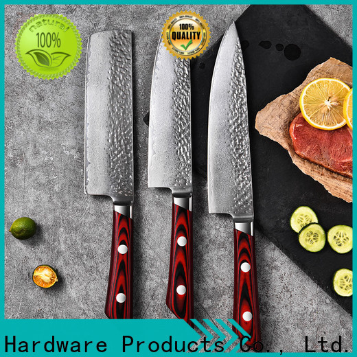 Top damascus chef knife blank factory for family