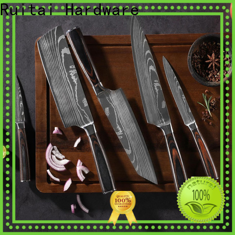 Ruitai damascus chef knife blank company for cook