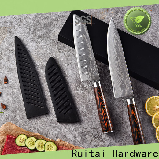 Ruitai High-quality damascus kitchen knife blanks Supply for chef
