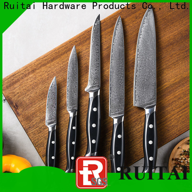 New damascus steel chef knives factory for kitchen