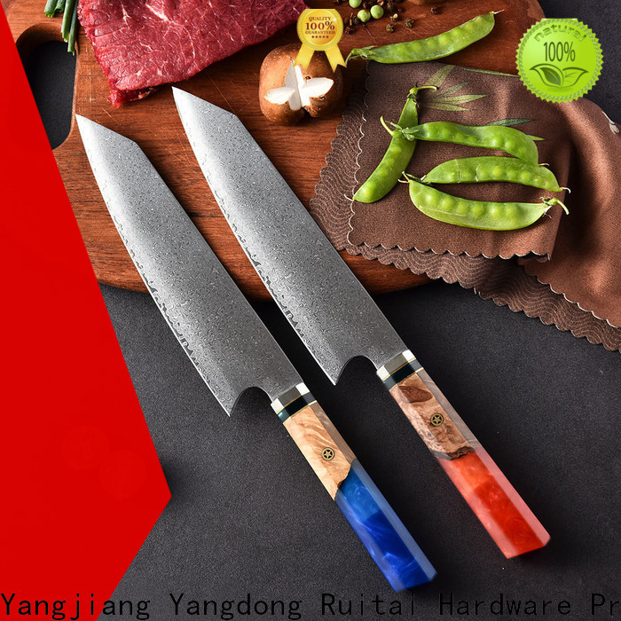 Ruitai New damascus chef knife blank factory for chef