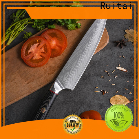 Ruitai Custom custom damascus kitchen knives for business for chef