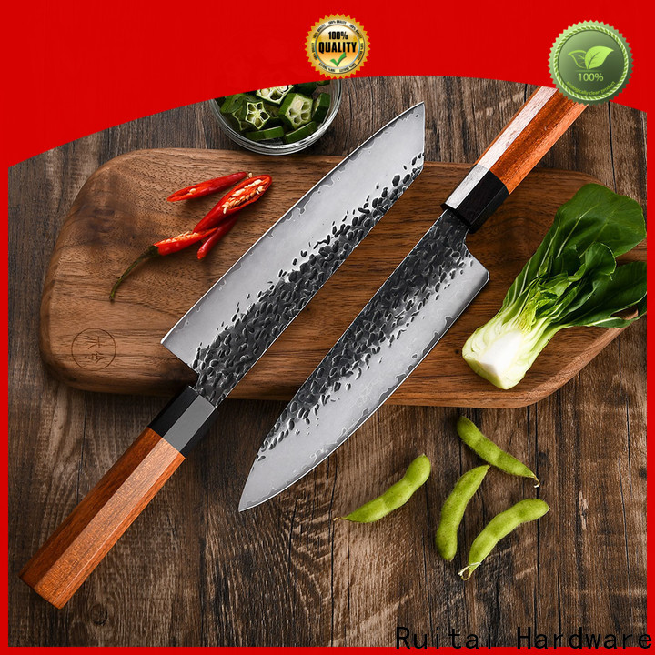 Ruitai Latest kitchen knife damascus steel Suppliers for family