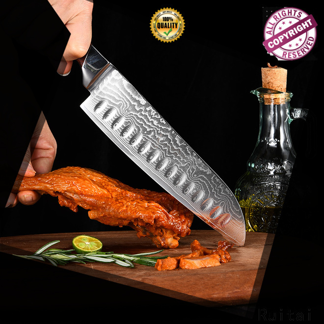 Ruitai High-quality damascus kitchen knives manufacturers for kitchen