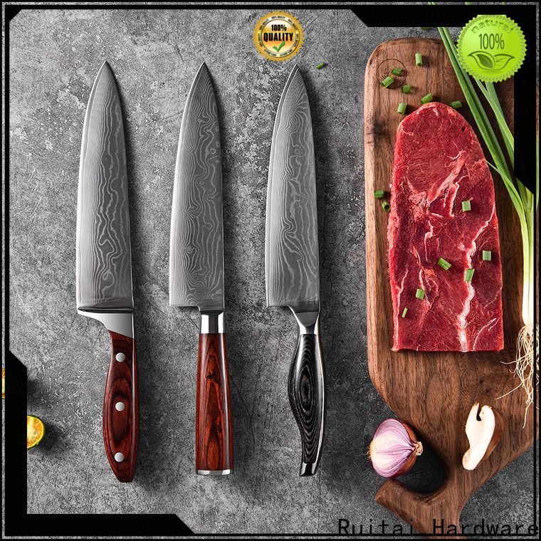 Ruitai custom damascus kitchen knives manufacturers for family