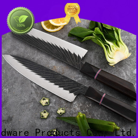 New damascus kitchen knives company for chef