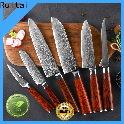Custom custom damascus kitchen knives manufacturers for chef