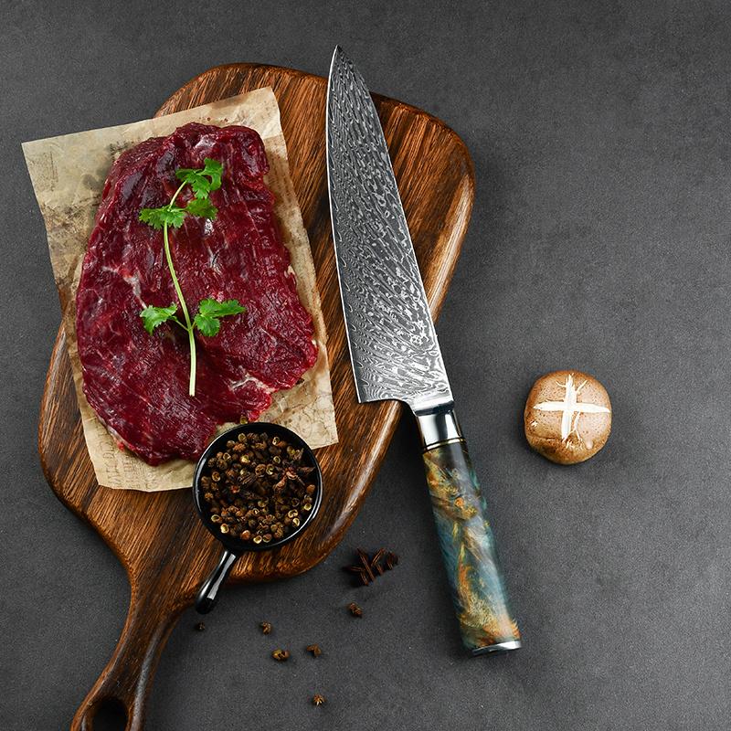 RUITAI Amazon Hot Selling 8 Inch Kitchen Chef Knife Set WN159