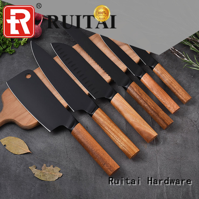 Ruitai pattern case kitchen knives manufacturers for cook