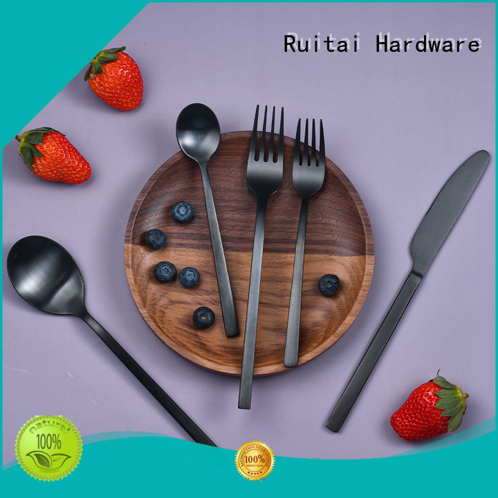 Ruitai New small knife and fork set manufacturers for families use