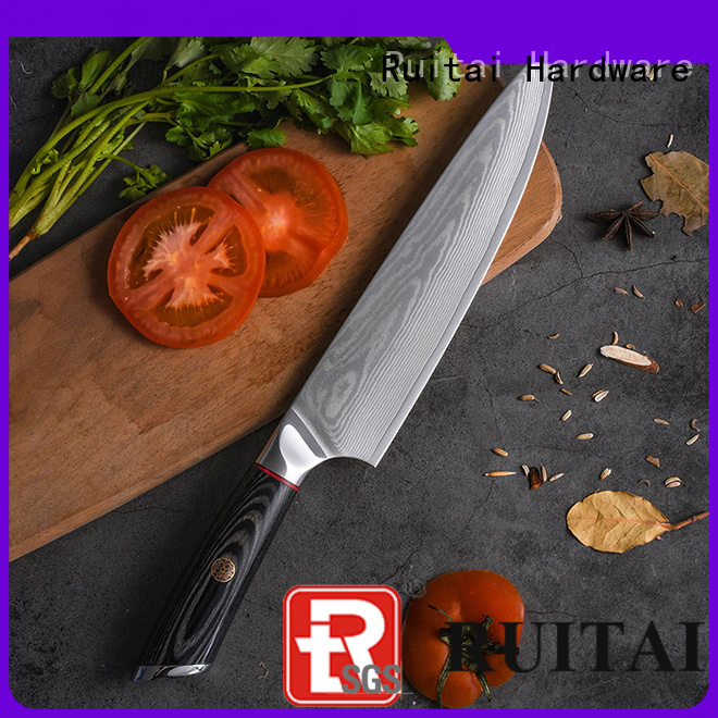 Top quality chef knives brands rivets company for chopping