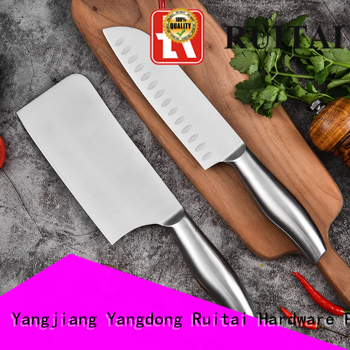 Ruitai spots best kitchen knife set brands company for kitchen