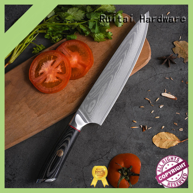 Custom kitchen knives and tools pakkawood supply for mincing