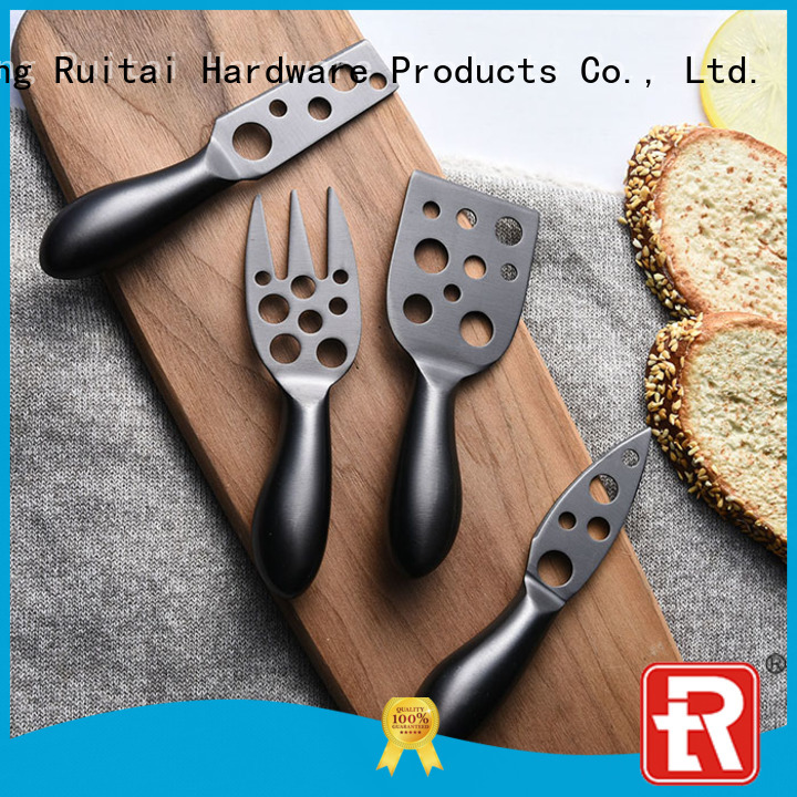 Ruitai goldenrose bamboo cheese spreaders supply