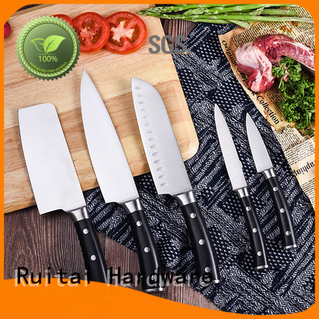 Ruitai stainless coloured kitchen knives supply for kitchen
