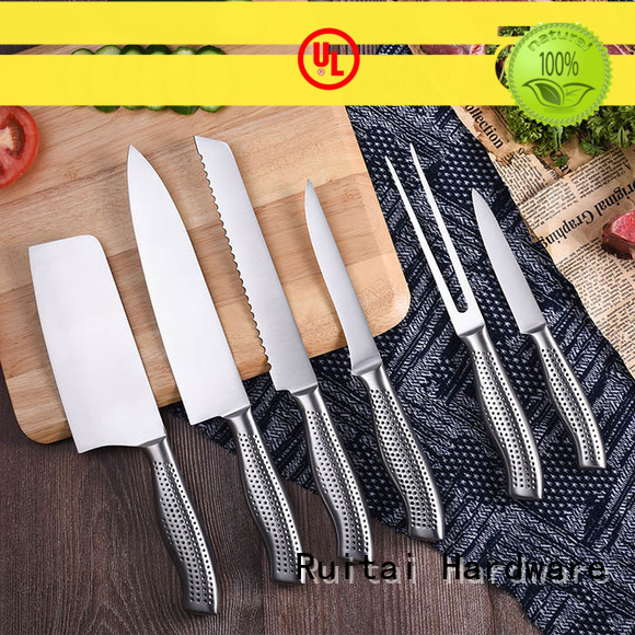 Ruitai gs175006t kitchenware knife set for business for cook