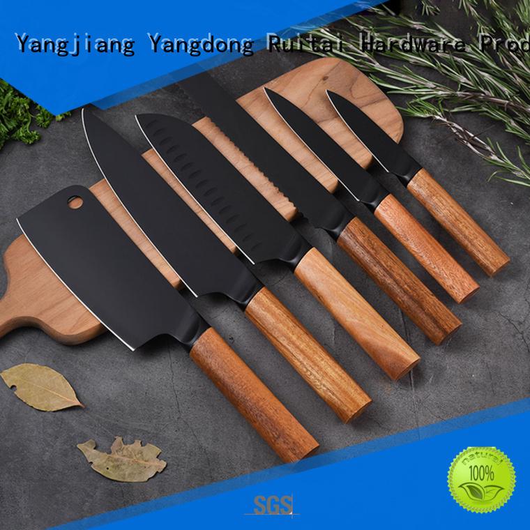 Ruitai Best best kitchen cutlery set supply for chef