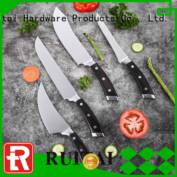 Ruitai coated kitchen chopping knife set manufacturers for chef