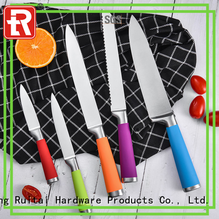 Ruitai High-quality chef knife set price manufacturers for chopping