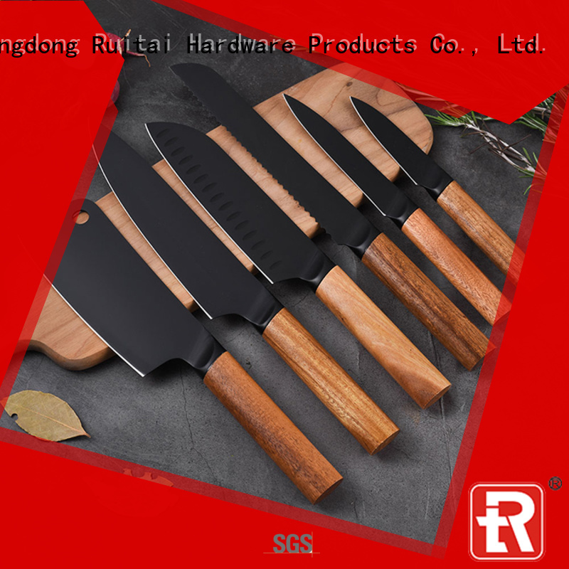 Ruitai Latest chef knife set price suppliers for kitchen