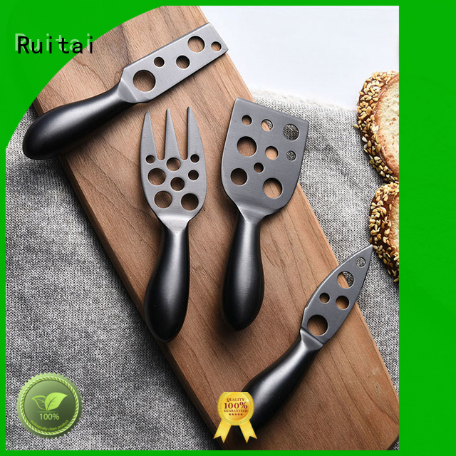 Ruitai Top double handle cheese knife suppliers for chef