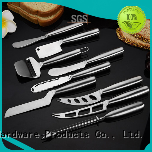 Latest wooden cheese board knife set ruitai supply
