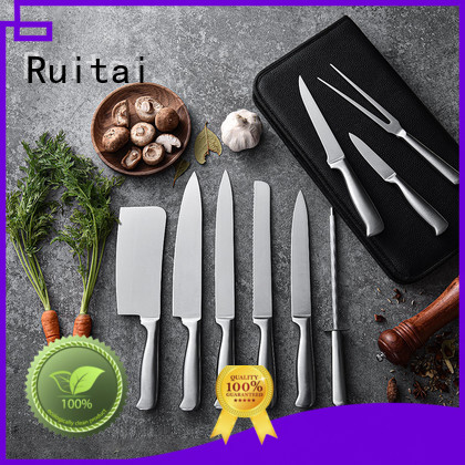 Ruitai Custom best kitchen knife block set factory for cook