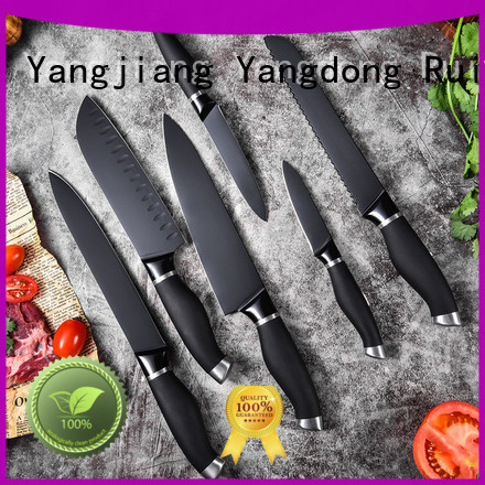 Ruitai steel unique kitchen knife sets factory for chopping
