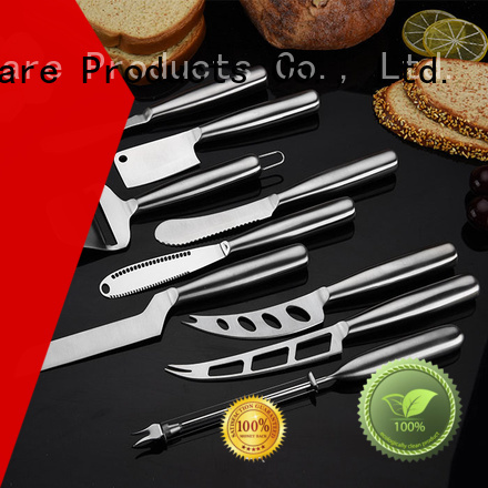 Latest small cheese knife set steel for business for kitchen