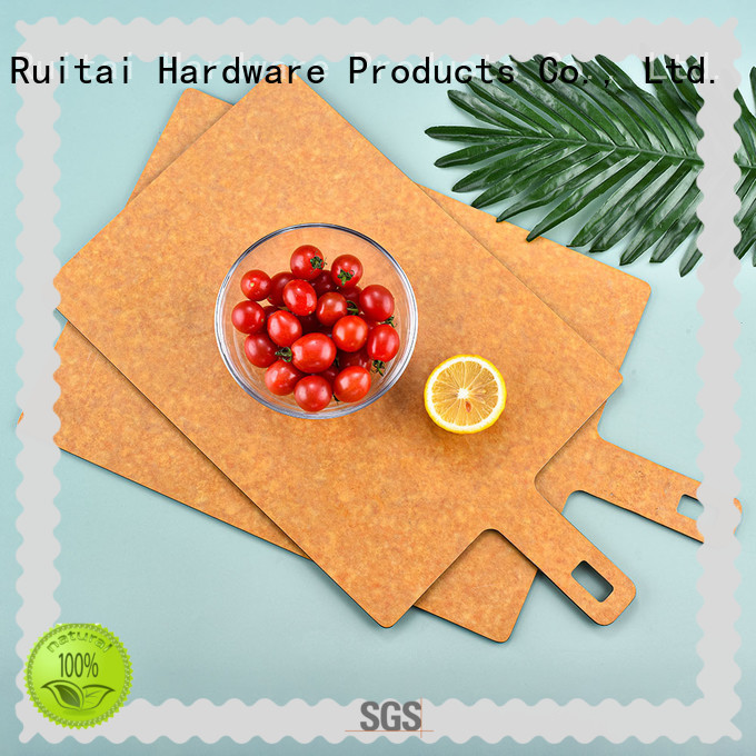 Ruitai wooden cutting boards with handle factory for family